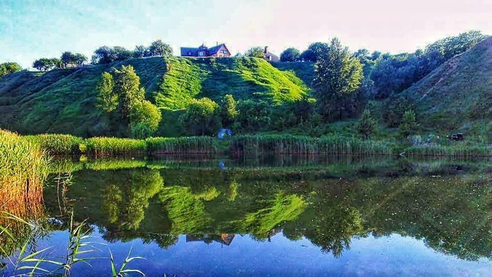 Набережна Київського водосховища (ГЕС, цегельні заводи, історичний ландшафт)