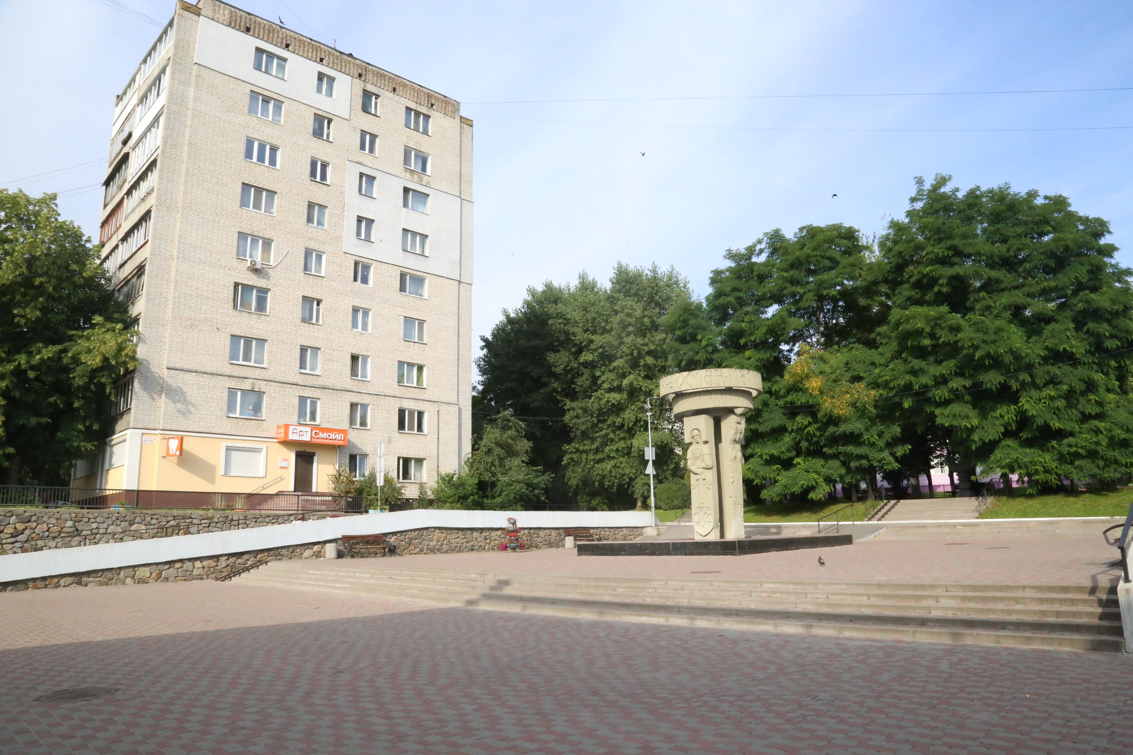 Площа  Г.Строкова
